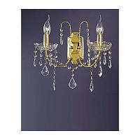 Настенный светильник TINKO 8015CG/2W золото/хрусталь