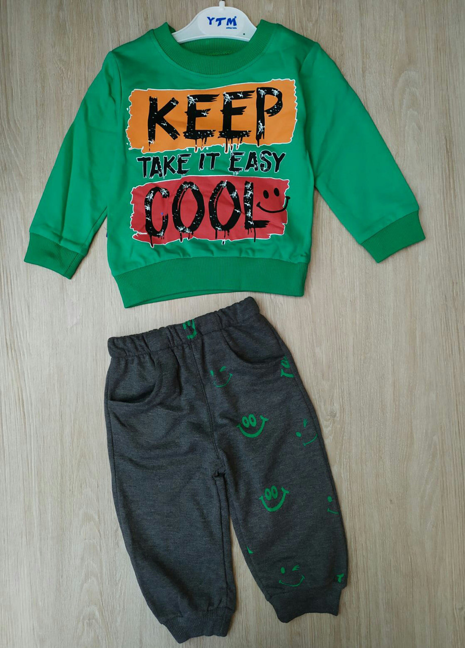 Детский костюм 2-5 лет для мальчиков Турция оптом