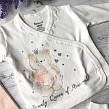 Крестильный костюм,  набор на выписку для девочки Miniworld 2. Размер 62 см, фото 3