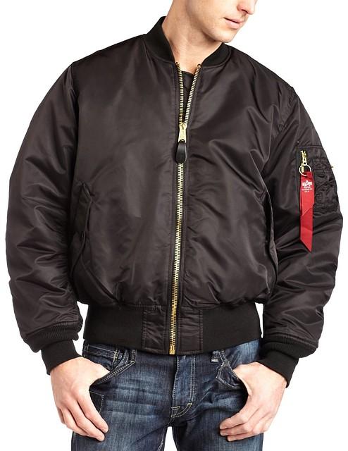 Мужская куртка Alpha Industries MA-1 black