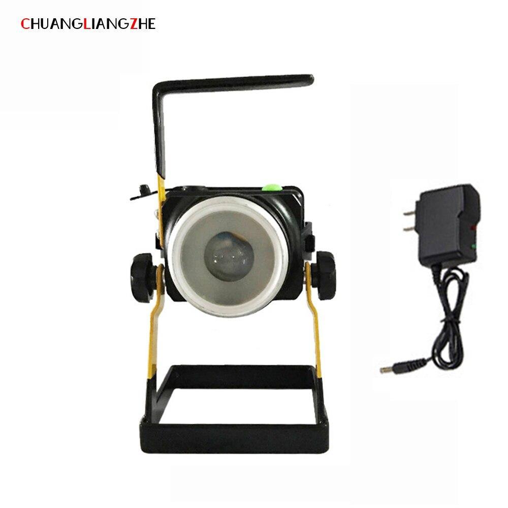 Кемпинговый штативный фонарь Kaida LED Floodlight с функцией зарядки мобильного телефона