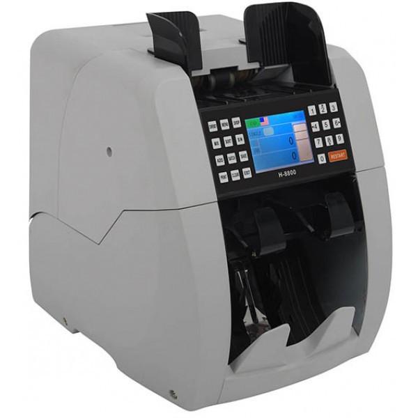 Профессиональная счетная машинка Bill Counter AG H-8800 с режимом распознаванием номинала банкноты
