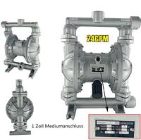 Пневматический двойной мембранный (диафрагменный) насос QBK-25L 6 м3 / ч