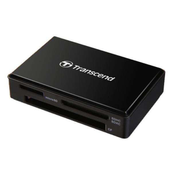 Кардридер TRANSCEND Cardreader TS-RDF8K USB 3.0/3.1 Black
