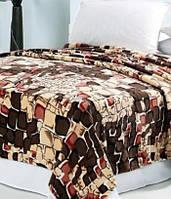 "Красивый плед камни из микрофибры евро размер ""Кларисса"". Плед камушки. Плед на кровать."
