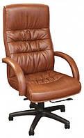 Крісло Орхідея НВ, кожзам коричневий (643-B HI-BACK BROWN PU + PVC HL014 MECH).
