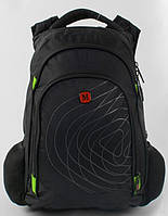 Рюкзак школьный для мальчиков 5,6,7 класс Портфель для школы c USB. Синий