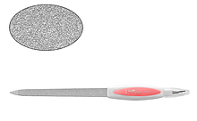 Дрібнозерниста металева пилка з пластиковою ручкою Lady Victory LDV EBG-17A /95-0
