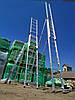 Лестница алюминиевая профессиональная трехсекционная универсальная 3 х 12 ступеней, фото 4