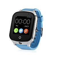 Дитячі смарт-годинник Wonlex GW1000S з підтримкою 3G мережі (Блакитний), фото 1
