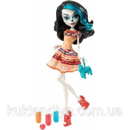 Кукла Monser High Скелита Карнавал - Storytelling Scarnival Skelita