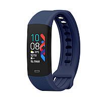 Фитнес-браслет Lemfo B6W с датчиком температуры тела (Синий), фото 1