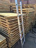 Алюминиевая лестница односекционная приставная на 13 ступеней, фото 6