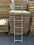 Алюминиевая лестница односекционная приставная на 13 ступеней, фото 7
