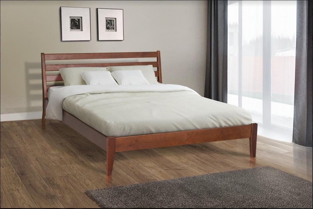 Кровать деревянная, двухспальная - Челси 1,6м