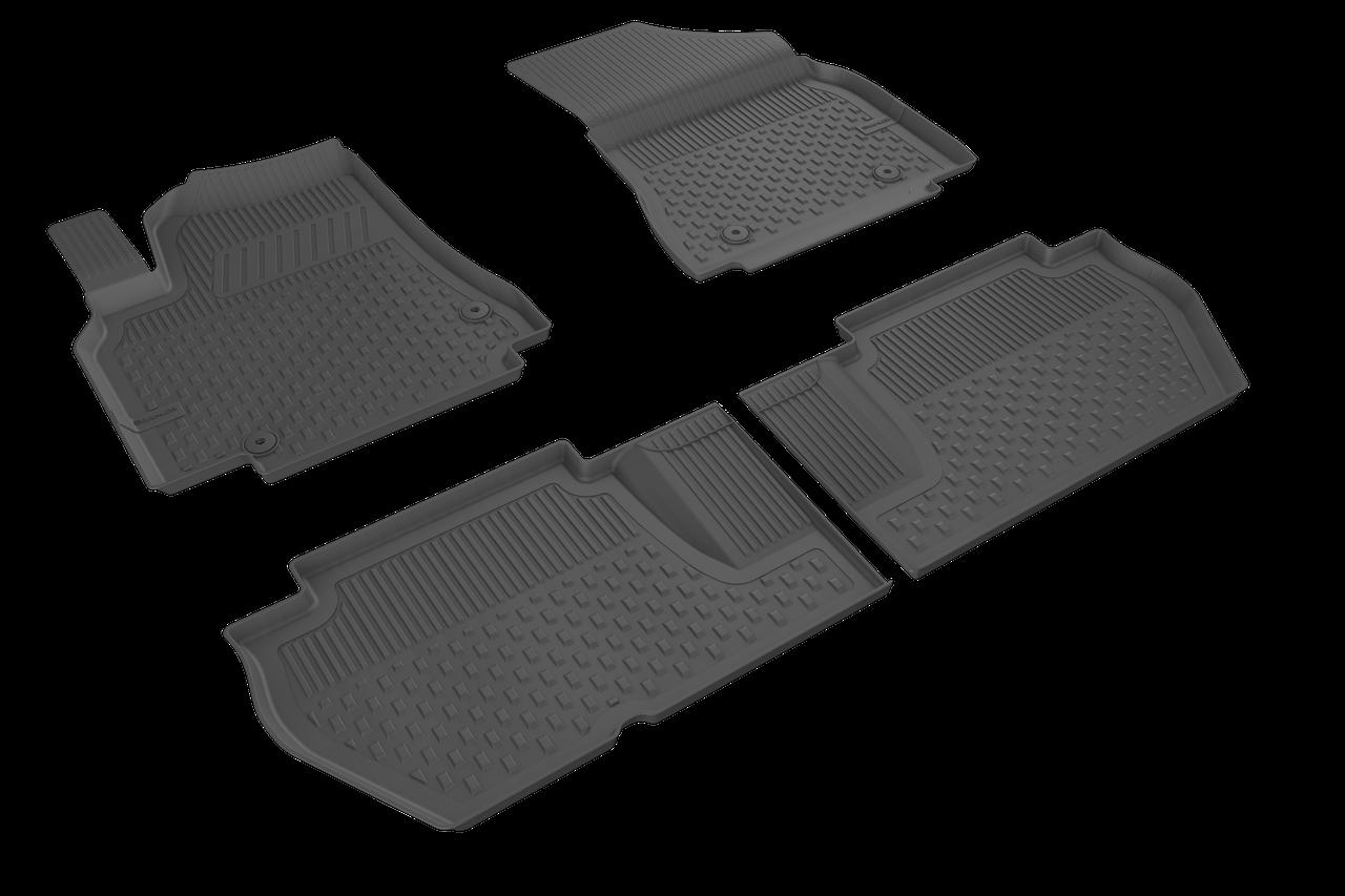 Автомобильные коврики в салон SAHLER 4D для CITROEN BERLINGO  2008-2018  CI-01