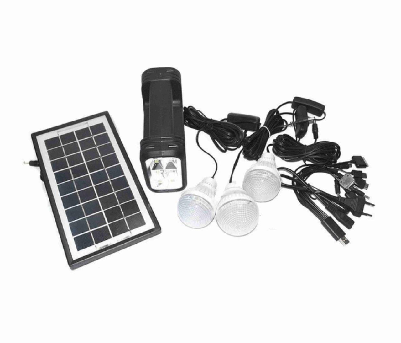 Портативная универсальная солнечная система GDLITE GD 8007 Внешняя солнечная батарея gdlite