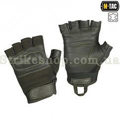Тактичні рукавиці M-Tac безпалі Assault Tactical Mk.4 Olive