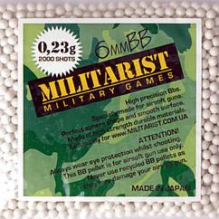 Кулі MILITARIST 0,23g - 2000 SZT.