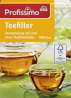 Profissimo Teefilter - Фильтр-пакеты для чая, 100 шт.
