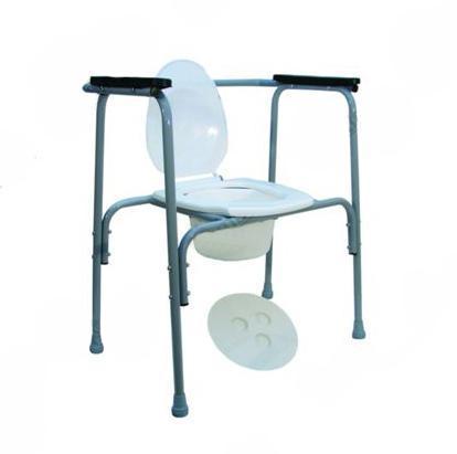 Стул-туалет стальной нерегул  (470х710х750)   НТ-04--001