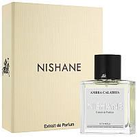 Парфюмированная вода унисекс Nishane Ambra Calabria Extrait De Parfum оригинал 50 мл