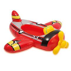 Детский надувной плотик Intex 59380 (Самолет)