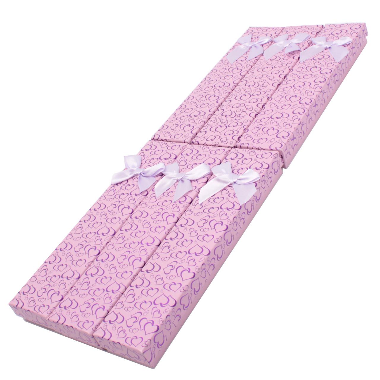 Коробочка подарочная для браслетов box2-2 Фиолетовый