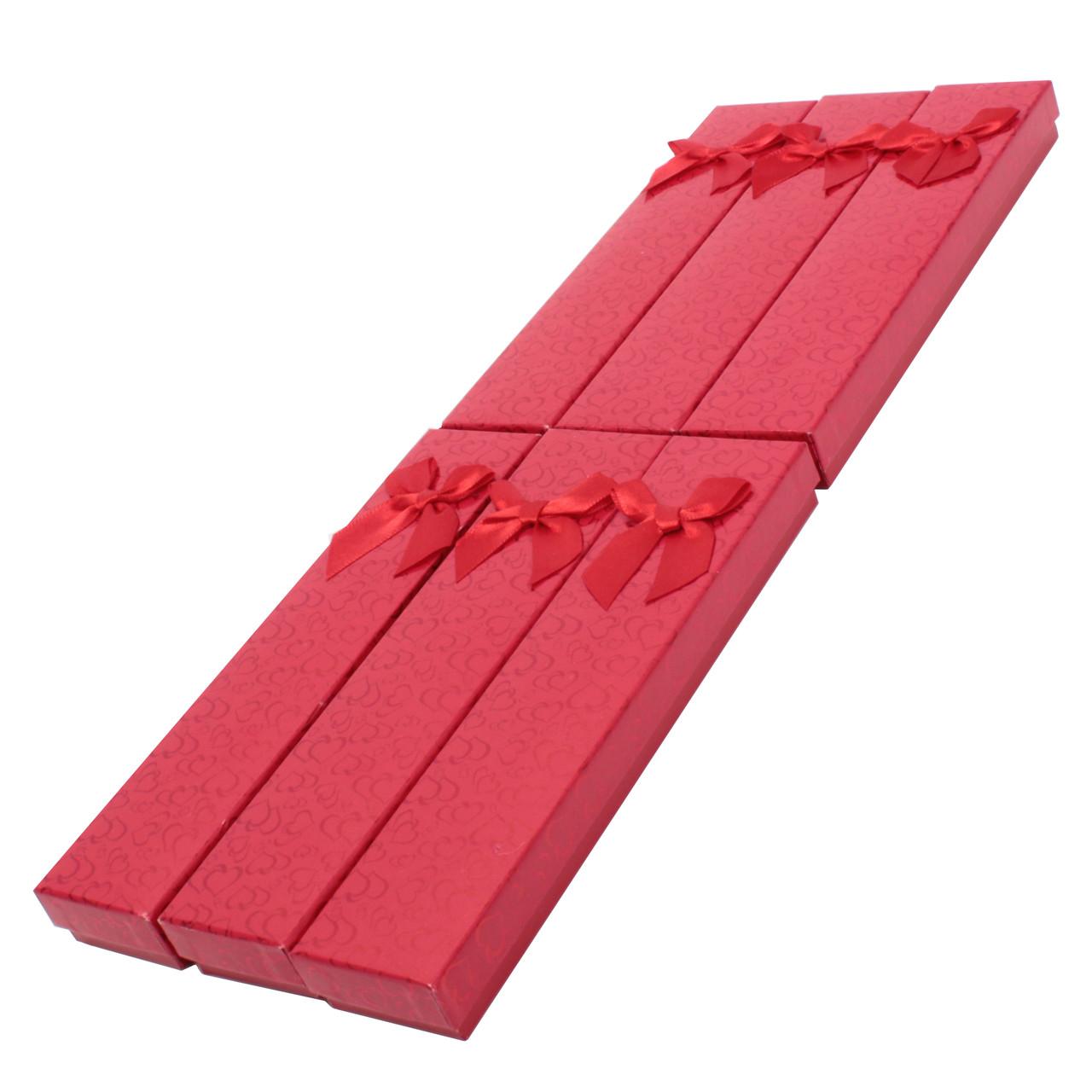 Коробочка подарочная для браслетов box2-2 Красный