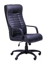 Зручне офісне комп'ютерне крісло на колесиках Атлантіс Пластик Неаполь N-20