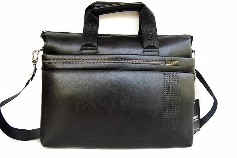 Стильная сумка-портфель POLO. Сумка для документов, ноутбука. Высокое качество. Доступная цена. Код: КЕ184