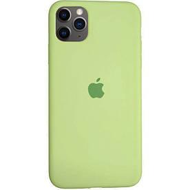 Чехол Silicone Case для Apple iPhone 11 Pro силиконовый, Авокадо