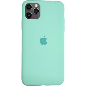 Чехол Silicone Case для Apple iPhone 11 Pro силиконовый, Ice Sea Blue
