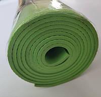 Коврик каремат туристический для занятий спортом, зелёный