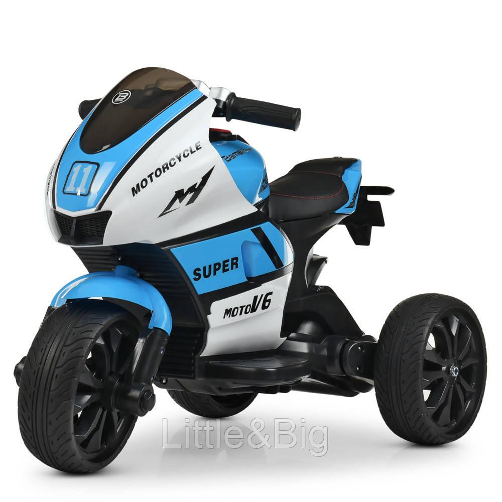 *Детский мотоцикл (электромобиль) Bambi арт. 4135-1-4