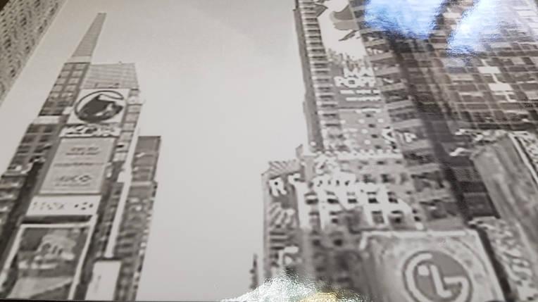 Наклейка на двери шкафа черно белая (самоклейка для шкафа такси) 240 х 100 см с защитной ламинацией, фото 2