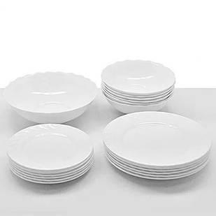 Сервиз столовый Besser Bianco MS-3335 стеклокерамика 19 предметов (300017)