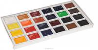 Краски акварель художественная Сонет 24 цветов, 2,5 мл., кюветы, к/к ЗХК код: 350814, арт.зав.: 3541139, фото 2