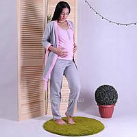 """Женский теплый набор халат с пижамой для беременных и кормящих мам """"Gеra"""" р.42-54 (46-48 нет)"""