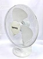 Настольный вентилятор бытовой Rainberg RB-09 с защитой (25 см)
