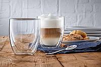 Термостакан 200 мл. для кофе 1шт. (Двойное стекло), фото 1