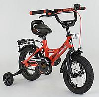 Детский двухколесный велосипед 12 дюймов CL-12 D 0106 красный, фото 1