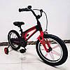 Детский двухколесный велосипед 16 дюймов Hammer Brilliant HMR-880 черный.