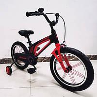 Детский двухколесный велосипед 16 дюймов Hammer Brilliant HMR-880 черный., фото 1