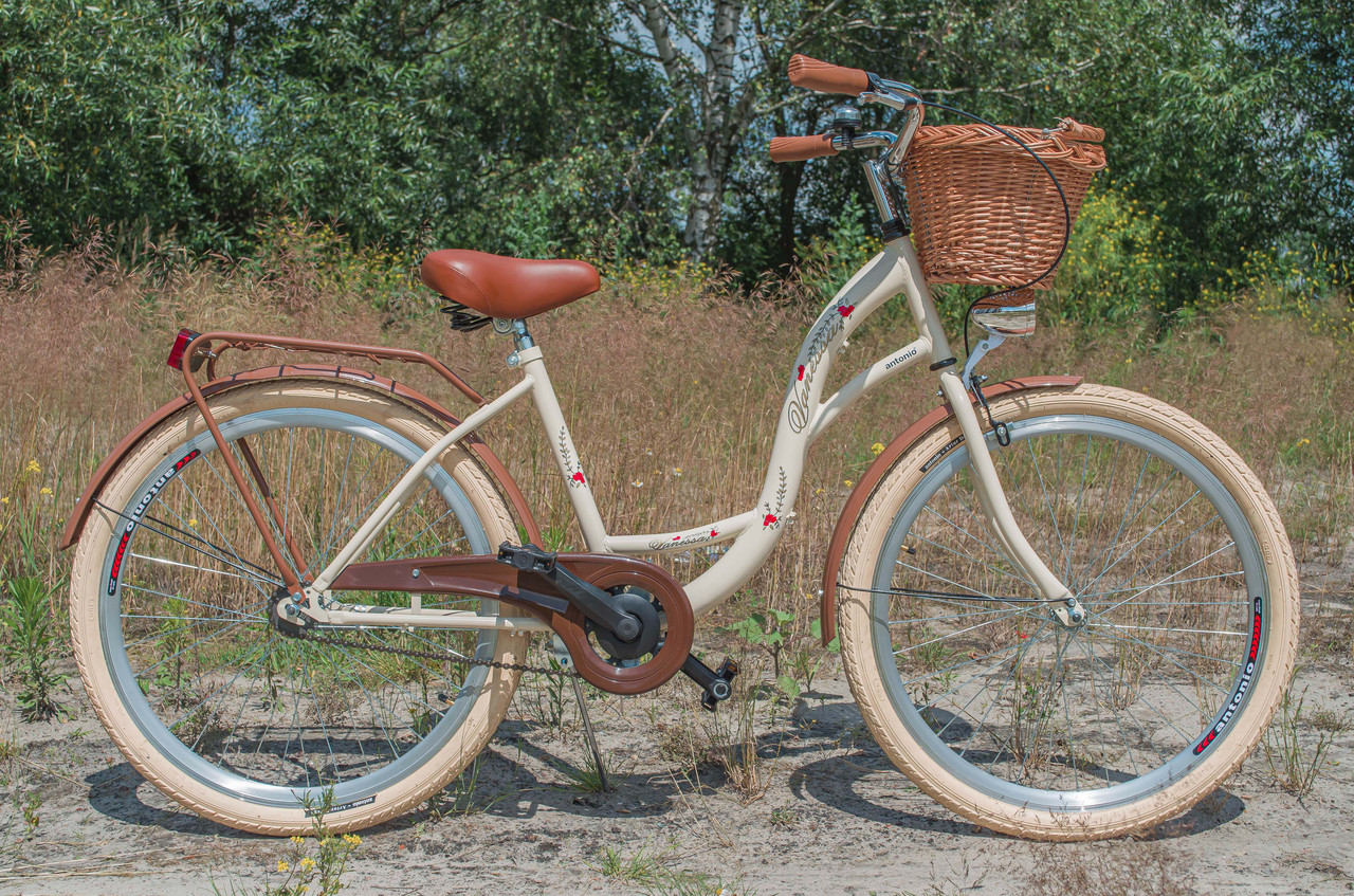 Велосипед VANESSA Vintage 26 Cream Польща
