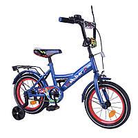 Велосипед двухколесный Tilly Explorer 14 дюймов T-214112 blue_red