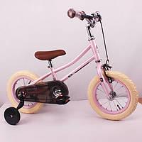"""Детский беговел-велосипед 12 дюймов """"NL-01"""" розовый, фото 1"""