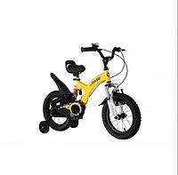 Двоколісний велосипед Flying bear 16 дюймів RB16B-9 жовтий, фото 1