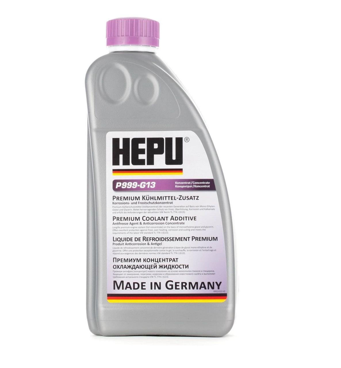 Антифриз концентрат HEPU P999 G13 (фиолетовый) 1,5л
