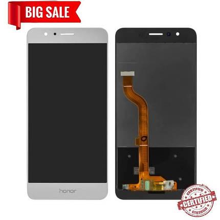 Модуль (сенсор+дисплей) для Huawei Honor 8 (FRD-L09/FRD-L19) білий, фото 2